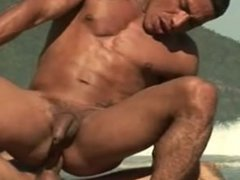 Hunk Latino vidz Gays Intimate  super Outdoor Sex