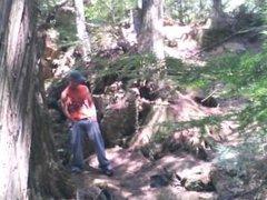 Forest voyeur vidz jerking off  super #1 (intro)