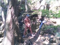 Forest voyeur vidz jerking off  super #3
