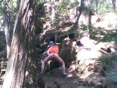 Forest voyeur vidz jerking off  super #5