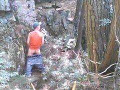 Forest voyeur vidz jerking off  super #8