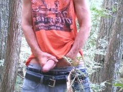 Uncut cock vidz forest stroking  super #2