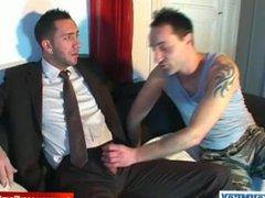 Full video: vidz A innocent  super vendor gets serviced his big cock by a guy!