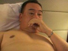 Japanese old vidz man 45