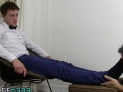 Young guy vidz gay sex  super massage with man Logan's Feet & Socks Worshiped