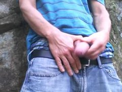 Uncut cock vidz forest stroking  super #9