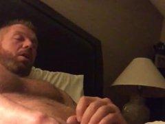 Handsome Daddy vidz Jerks Off  super & Cums