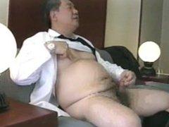 Japanese old vidz man 55