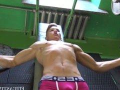 Muscular Jock vidz Vilnius Casting