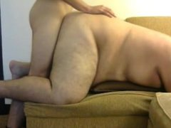 Chubby guy vidz takes my  super huge cock in his ass doggy style