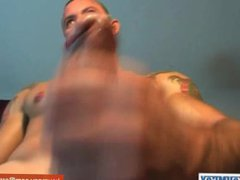 Full video: vidz A innocent  super neighbour gets serviced his big cock by a guy!