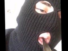 BOY WITH vidz BALACLAVA DEEPTHROATS  super A KNIFE