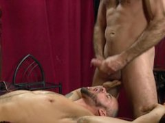 Just when vidz U thought  super that the hunky neighbour is str8, he lands on UR cock