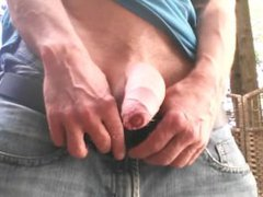 Outside uncut vidz cock jerking  super off #2
