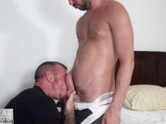 Cock Hungry vidz Athlete Takes  super A Mature Raw Dick