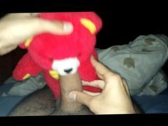 [Amateur POV] vidz Gay teddy  super bear sucks cock and takes it up the ass