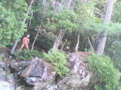Forest voyeur vidz jerking off  super #9