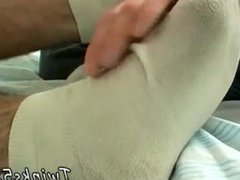 Dick slips vidz in the  super gym gay full length Kenny gives it to him,