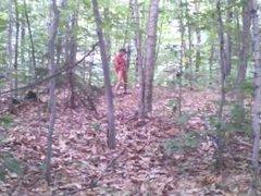 Forest voyeur vidz jerking off  super #13