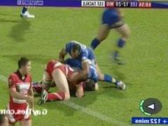 Sports Guys vidz get Stripped  super on TV