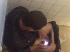 Caught hot vidz straight black  super guy jerking off in public toilet