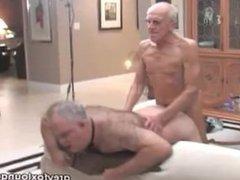 Threesome Grandpa vidz In Action