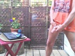 Outdoor wanking vidz #1