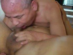 Japanese old vidz man 85