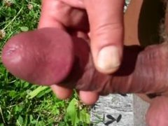 Solo mature vidz outdoor wanking
