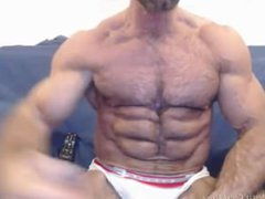 Take a vidz look at  super our newest pumped-up muscle hunks from JockMenLive.com!