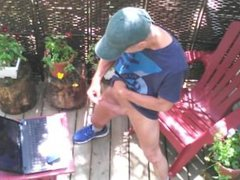 Outdoor wanking vidz #10