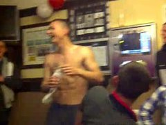"""Naked straight vidz english guy  super gets his dick out for the """"full monty"""