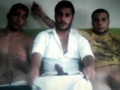 Three guys vidz wanking on  super cam (old video)