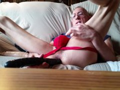 playing with vidz my dildos  super ... but i wish it was you pushing them in