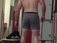 Muscle college vidz wrestler naked  super in locker room
