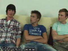 School boys vidz gay videos  super download Ashton, Daniel and Jase are on the futon