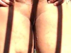 Naked in vidz a public  super park