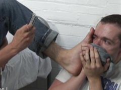 Boy finds vidz out his  super mate is a fag so he blackmails him into licking his shoes