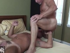Smooth Muscle vidz Daddies Suck  super and Fuck in the Bedroom