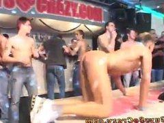 Group cum vidz in young  super gay twink boy ass Guys enjoy a fellow in uniform,