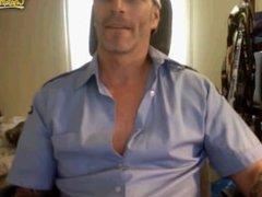 Burnaby FireFighter vidz Jerkoff on  super cam