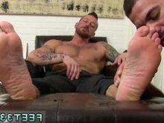 Male twins vidz gay sucking  super toes Hugh Hunter Worshiped Until He Cums