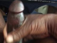 Chocolate Thunder vidz Stroking Big  super Black Dick
