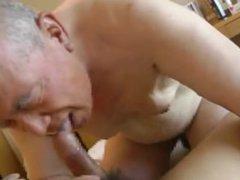 Japanese Grandpa vidz Having a  super GoodFuck