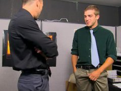 Office anal vidz sex with  super Austin and Kirk