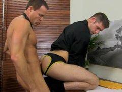 Duncan Black vidz and Jason  super Sparks having sex during lunch break