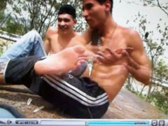 3 Guys vidz Tickling Each  super Other