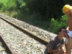 i fuck vidz a twink  super no taboo on exhib outdoor train exhib