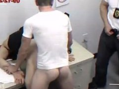 Pervert Parole vidz Officer Loves  super to give Creampie