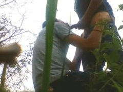 Latino emo vidz lures daddy  super to blow and film in park